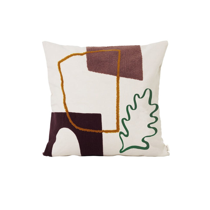Mirage Cushion: Leaf