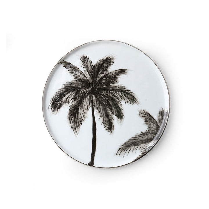 Side Plate Palms