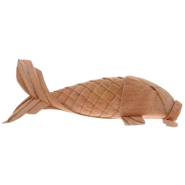 Hand Carved Wooden Carp Fish