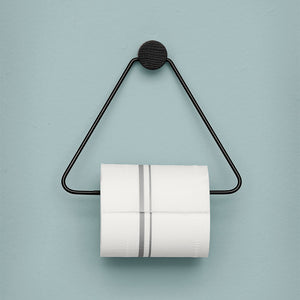 Toilet Paper Holder: Black