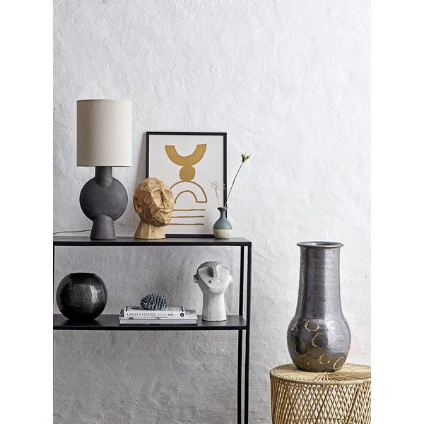 Terracotta Table Lamp: Brown