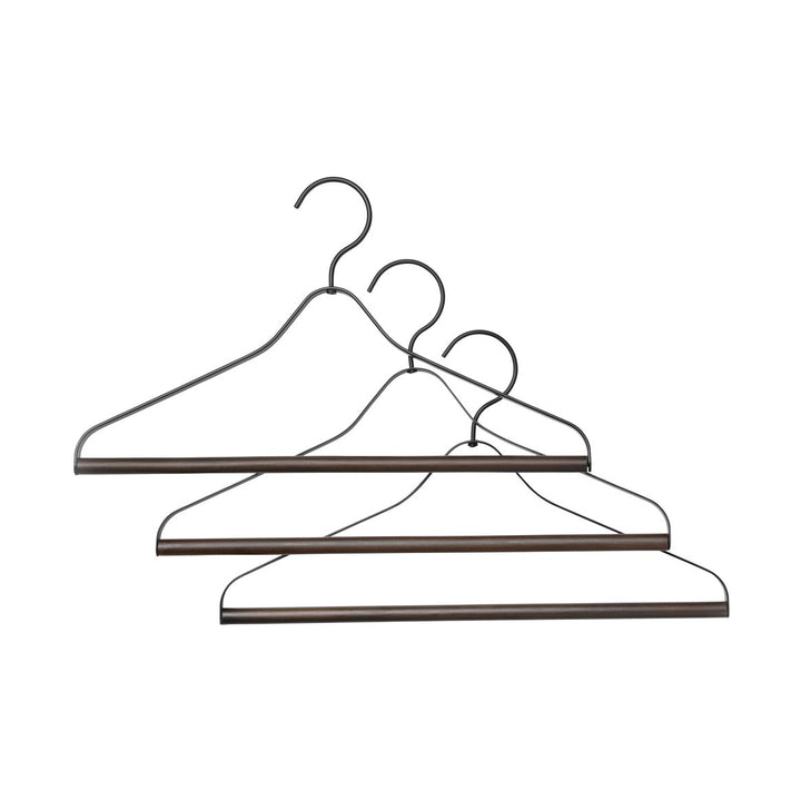 Coat Hanger (Set of 3): Black