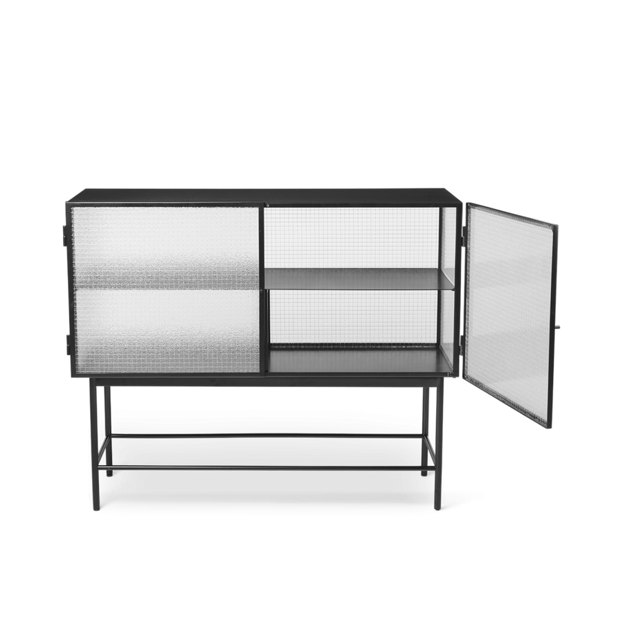 Haze Sideboard Wired Glass: Black