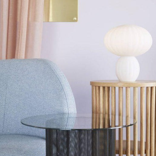 Opal Mushroom Table Lamp