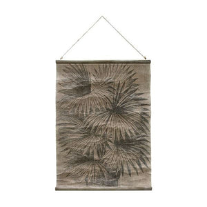 Vintage Wall Chart: Palm Leaves