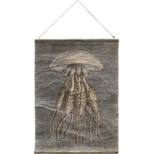 Vintage Wall Chart: Jellyfish