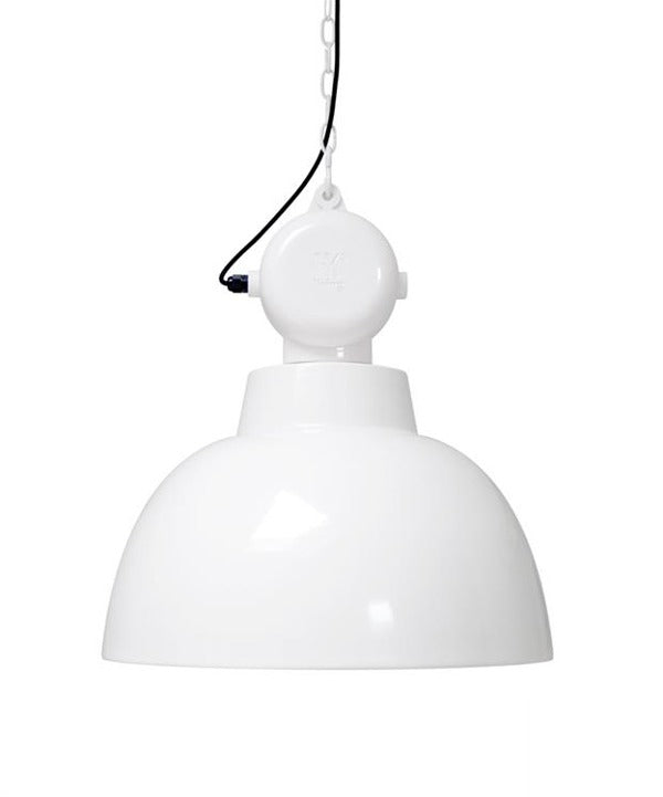 Factory Lamp Medium White