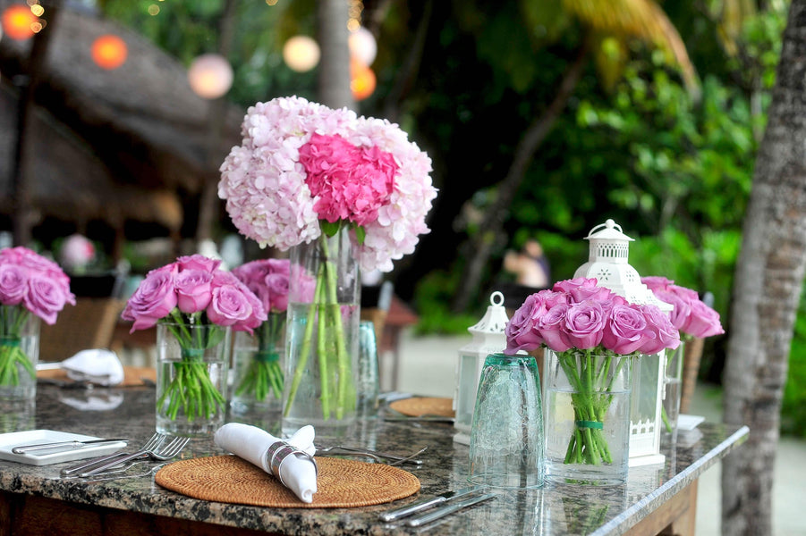 Don't touch! Simple tips to keep wedding flowers fresh