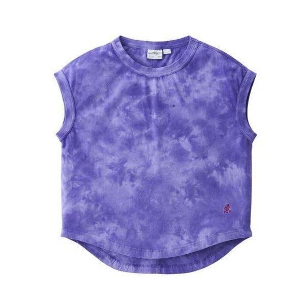 [GRAMICCI] FRENCH SLEVE TEE _ TIE DYE PURPLE
