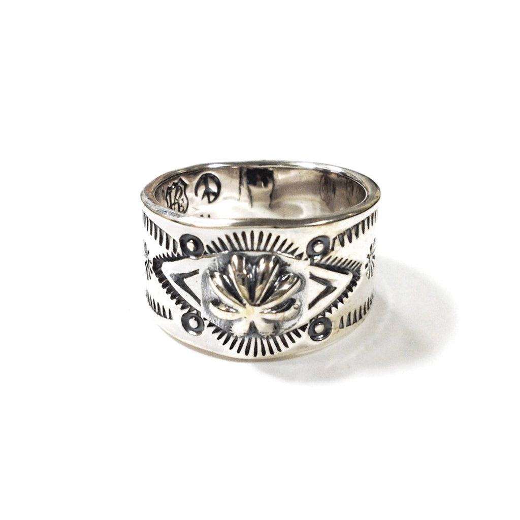 [NORTH WORKS] W-021 900 SILVER STAMP RING