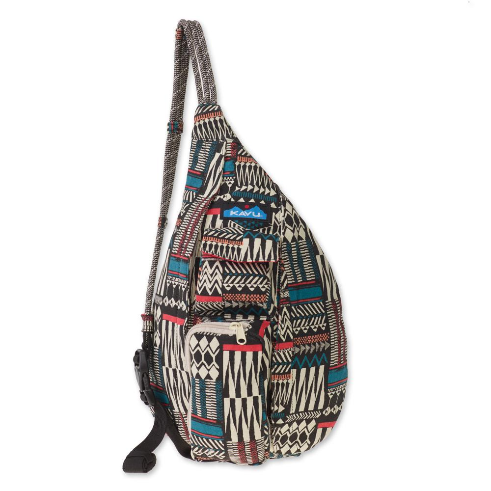 [KAVU] MINI ROPE BAG_PATTERN STACK