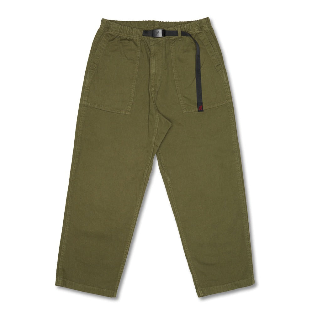 [GRAMICCI] LOOSE TAPERED PANTS_OLIVE