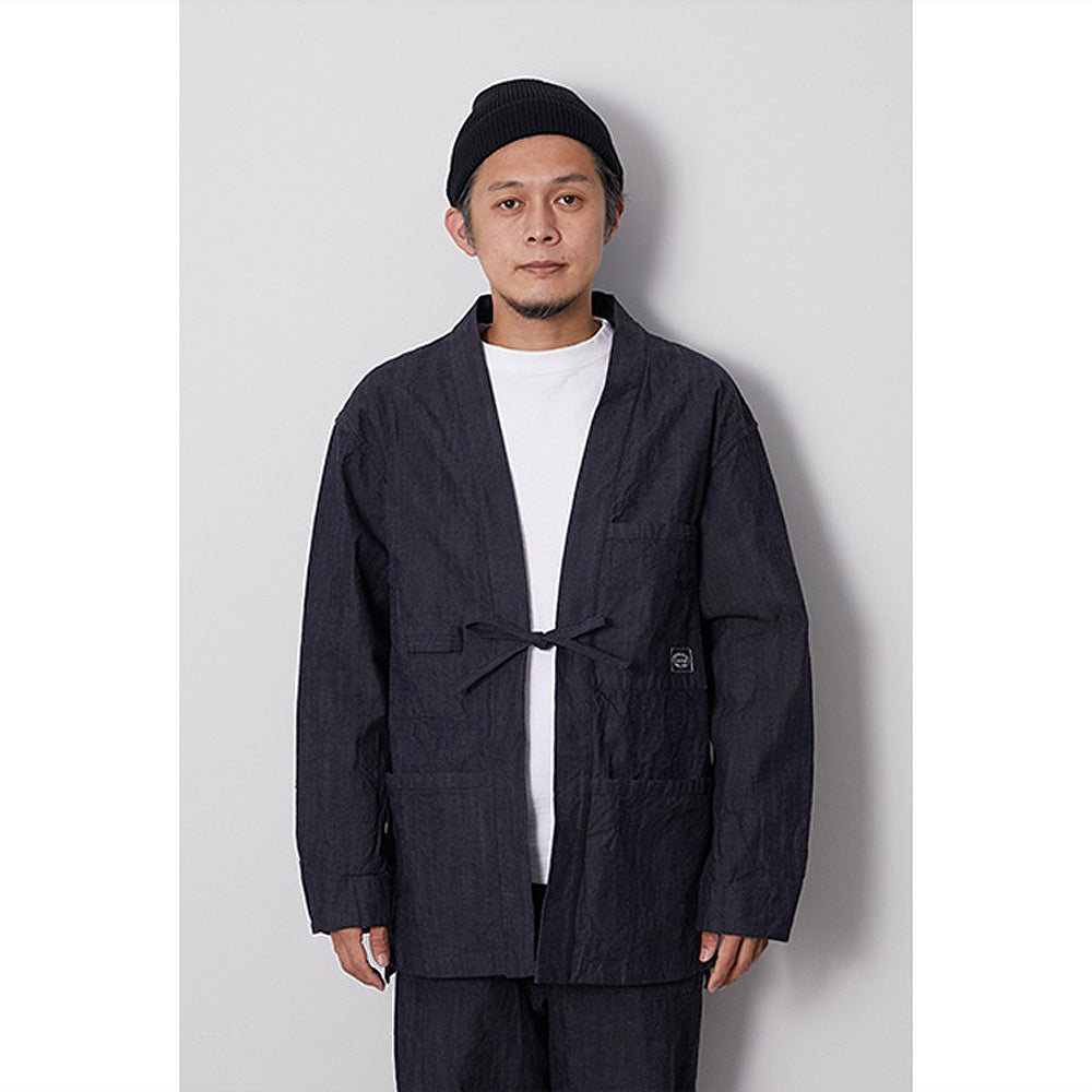 [SNOW PEAK] OG CANVAS NORAGI WORK JACKET _ INDIGO