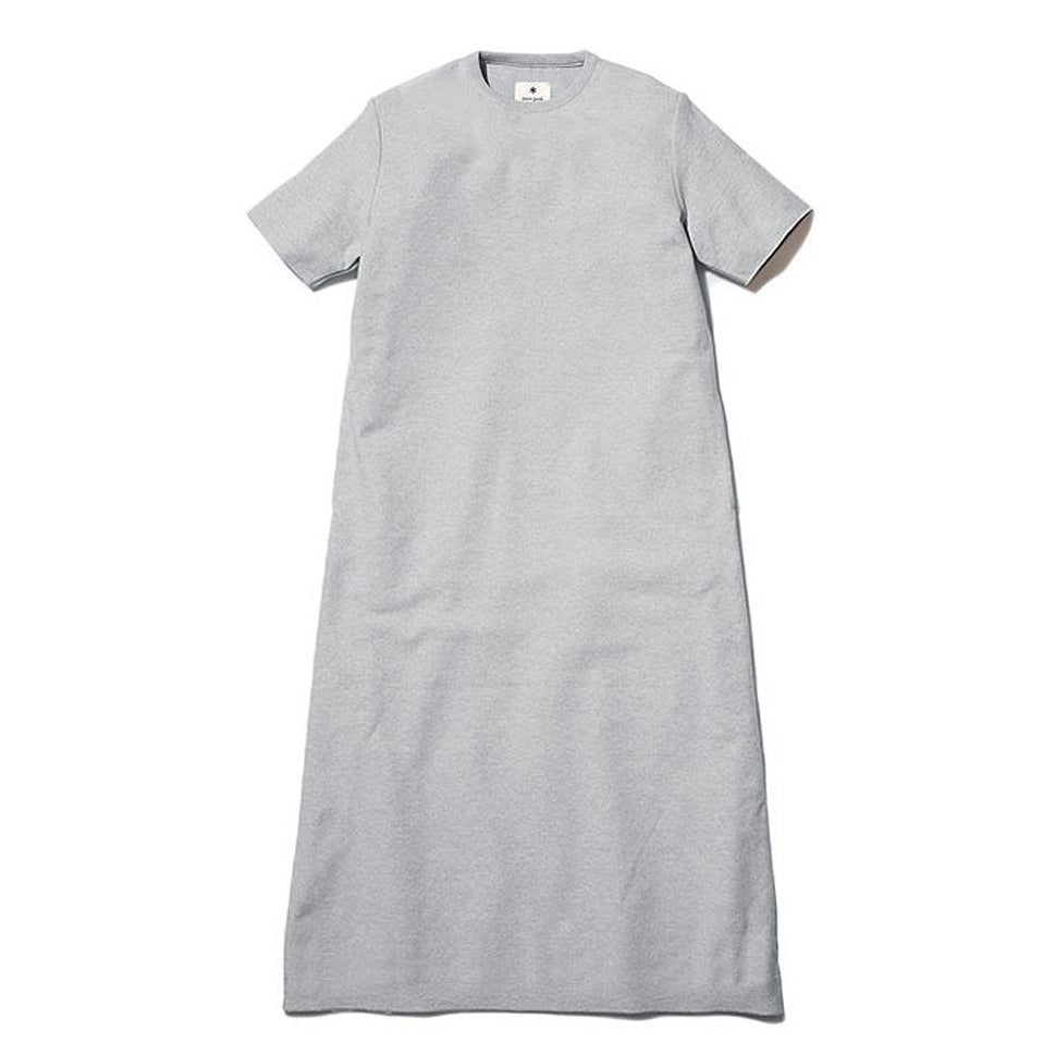 [SNOW PEAK] CO/PE DRY DRESS _ LIGHT GREY