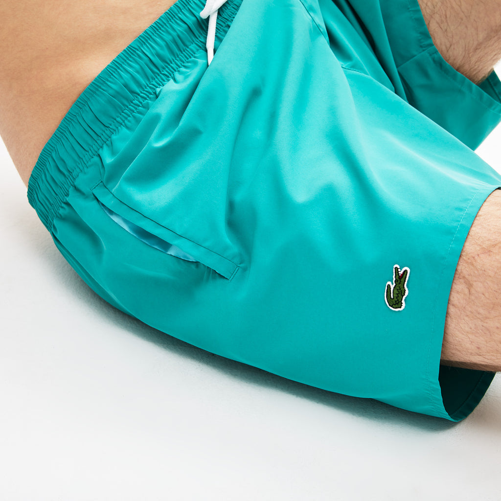 [LACOSTE] LIGHT QUICK-DRY SWIM SHORTS_NIAGARA/CICER