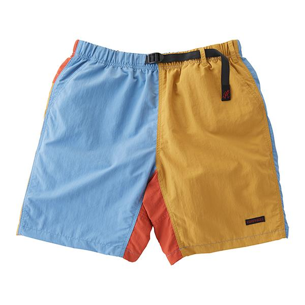 [GRAMICCI] SHELL PACKABLE SHORTS _ SAX X MUSTARD