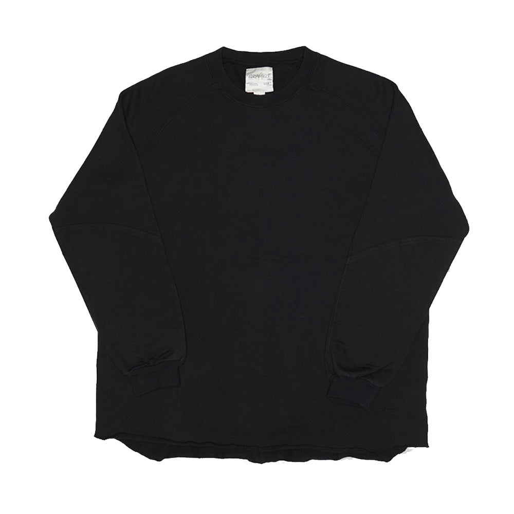 [GRAMICCI] TALECUT SWEAT_BLACK