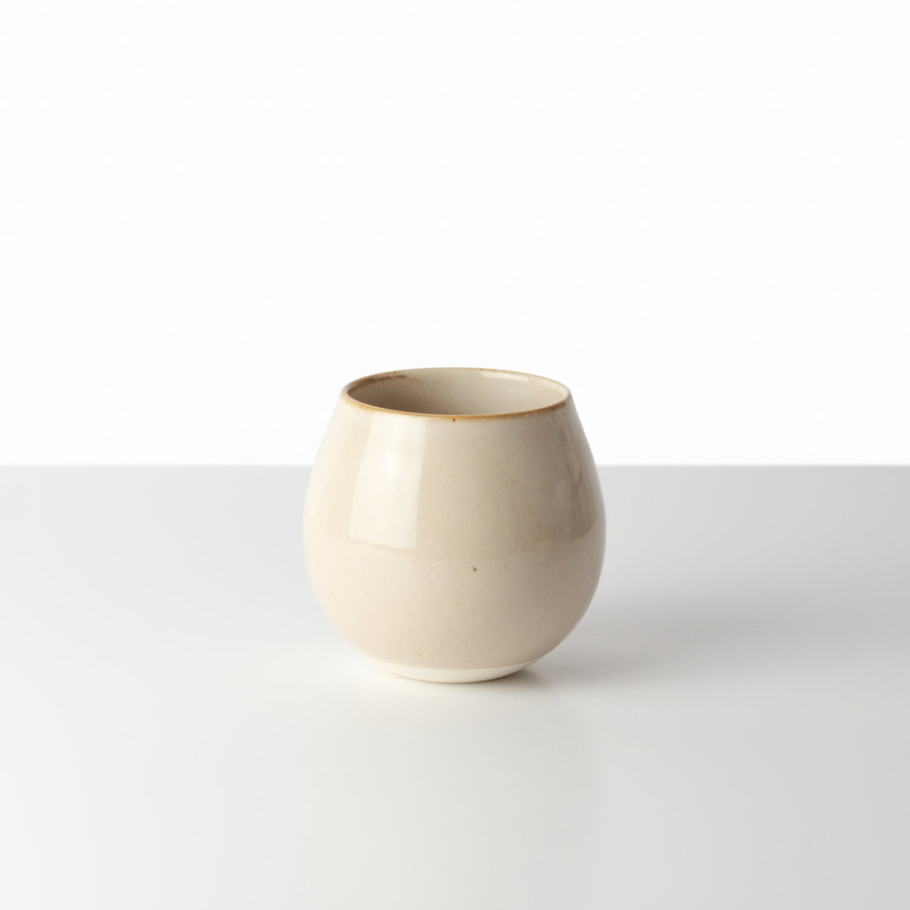 [MADE BY KIHARA] MILKY WHITE ROUND CUP