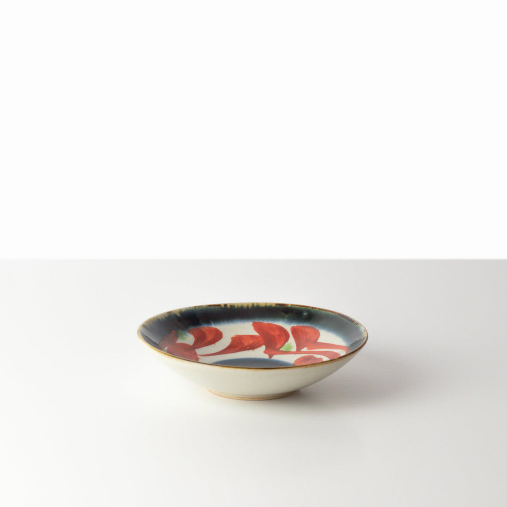 [MADE BY KIHARA] SMALL GOSU PLATE VERMILION