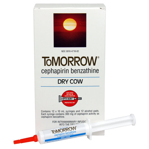 ToMORROW (Cephapirin Benzathine) Dry Cow Mastitis