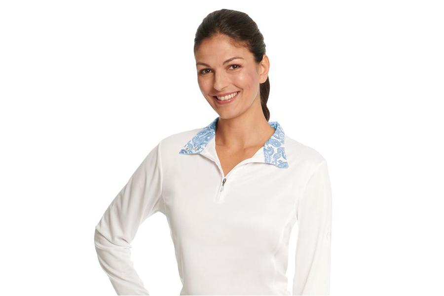 Ovation Destiny Evercool Long Sleeve Show Shirt Ladies