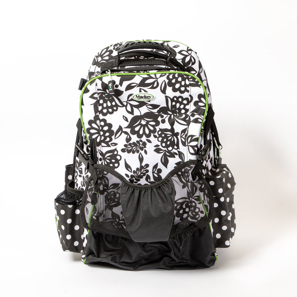 Mackey Dandy Papercut Floral Equestrian Backpack