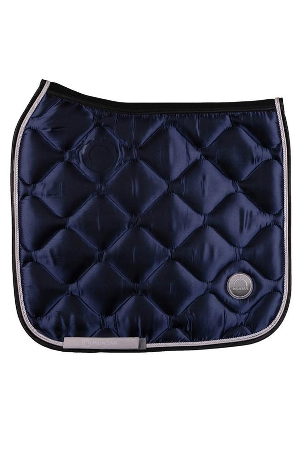 Montar Navy Dressage Deluxe Saddle Pad