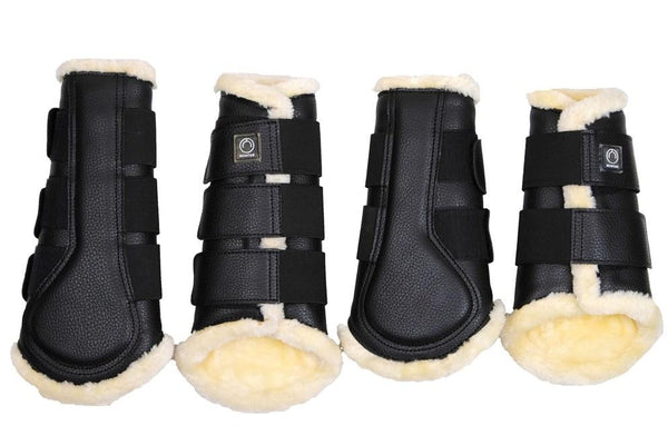 Montar Horse Boots (set of 4) Black