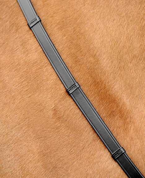 Passier Leather Reins with Leather Hand Grips with Hook Studs SALE