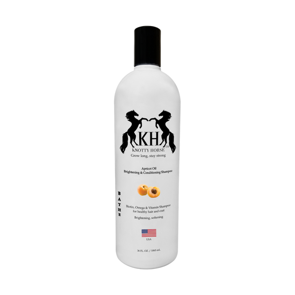 Knotty Horse Apricot Oil Brightening & Conditioning Shampoo