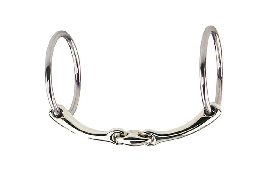 Herm Sprenger Dynamic RS Sensogan Double Jointed Loose Ring Snaffle- 16mm