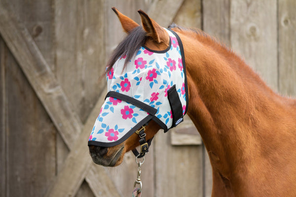 Mackey Modern Vintage Fly Mask with Detachable Nose