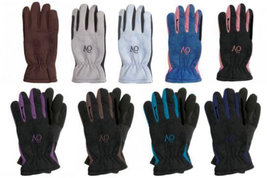 Ovation Polar Suede Fleece Gloves - Ladies