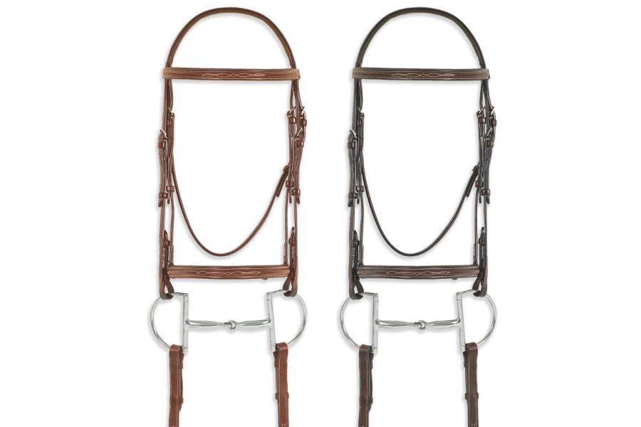 Pessoa Pro Fancy Stitched Raised Bridle