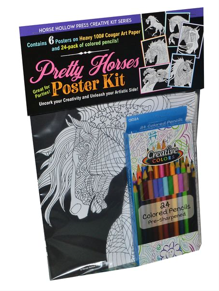 Hollow Horse Press Pretty Horses Poster Kit