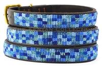 """Moonbeam"" Beaded Dog Collar"