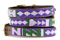 """Yesterday, Today, Tomorrow"" (YTT) Beaded Dog Collar"