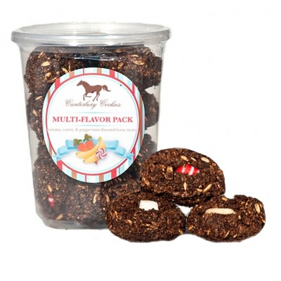 Canterbury Cookies Multi Flavor Horse Treat Plops