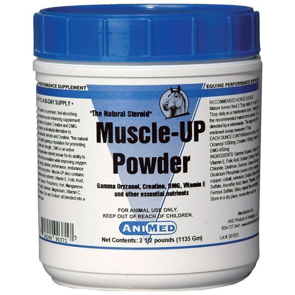 MUSCLE UP POWDER FOR HORSES AND LIVESTOCK