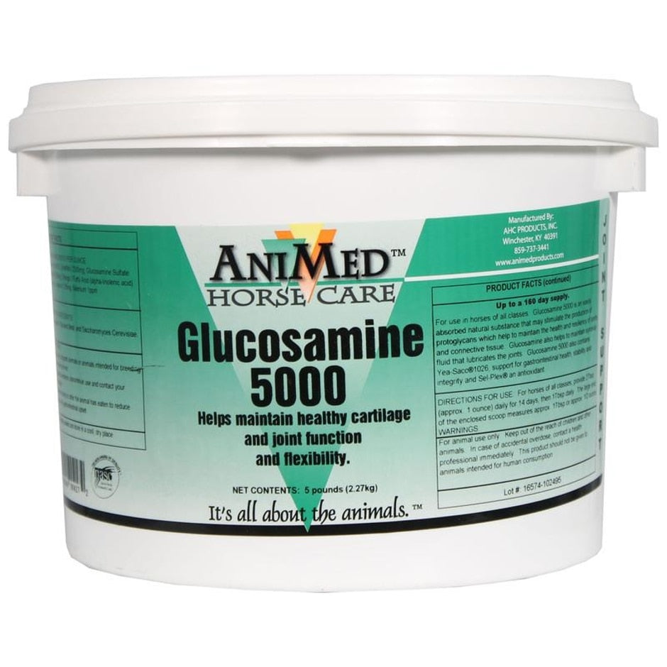 ANIMED GLUCOSAMINE 5000 JOINT HEALTH SUPPLEMENT FOR HORSE