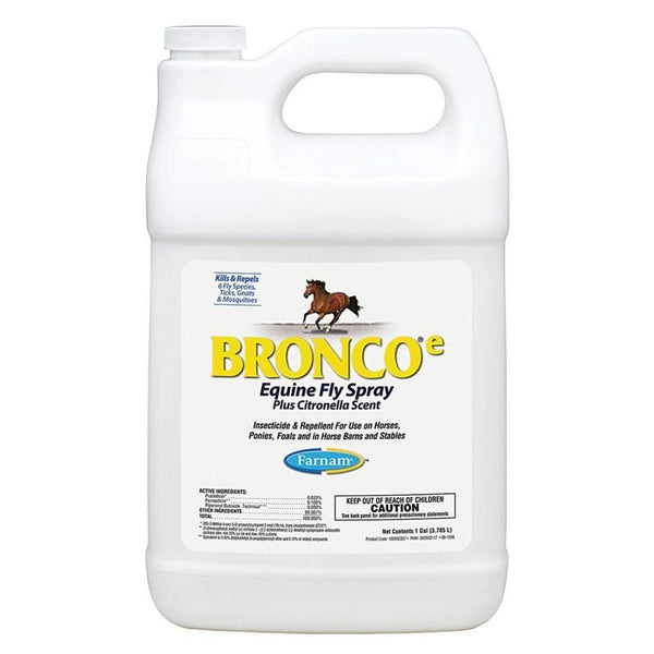 FARNAM BRONCO E EQUINE FLY SPRAY PLUS CITRONELLA SCENT