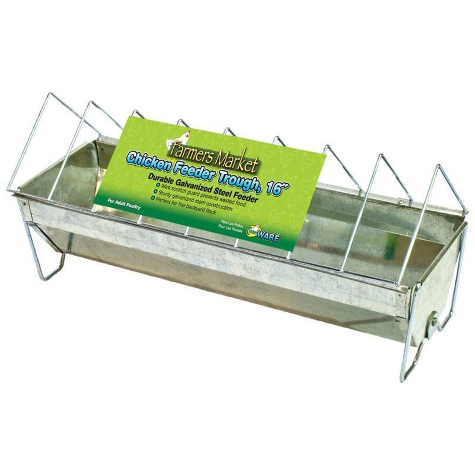 FARMERS MARKET FEEDER TROUGH FOR POULTRY