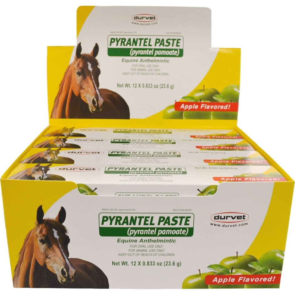 PYRANTEL PASTE WORMER FOR HORSES DISPLAY