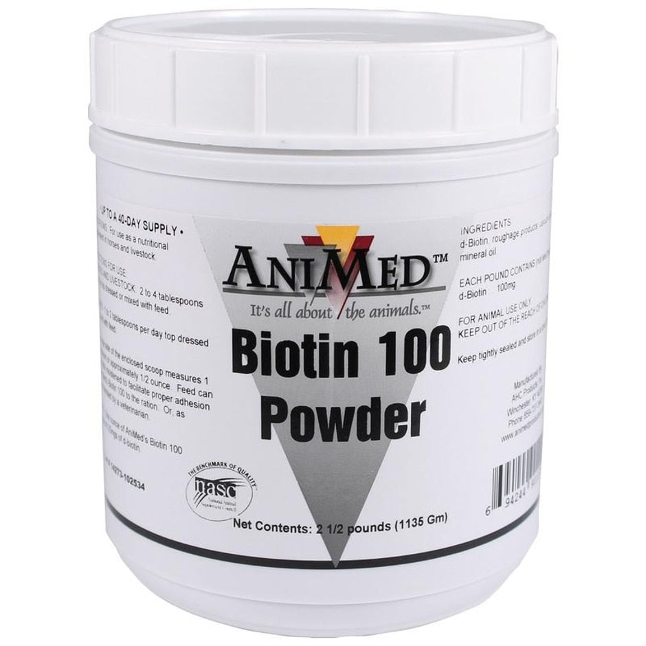 BIOTIN 100 POWDER SUPPLEMENT FOR LIVESTOCK