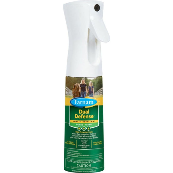 FARNAM DUAL DEFENSE INSECT REPELLENT FOR HORSE+RIDER