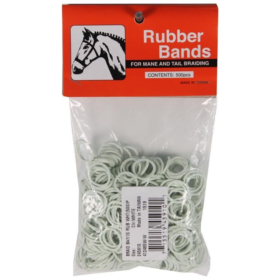 RUBBER HORSE BRAID BANDS