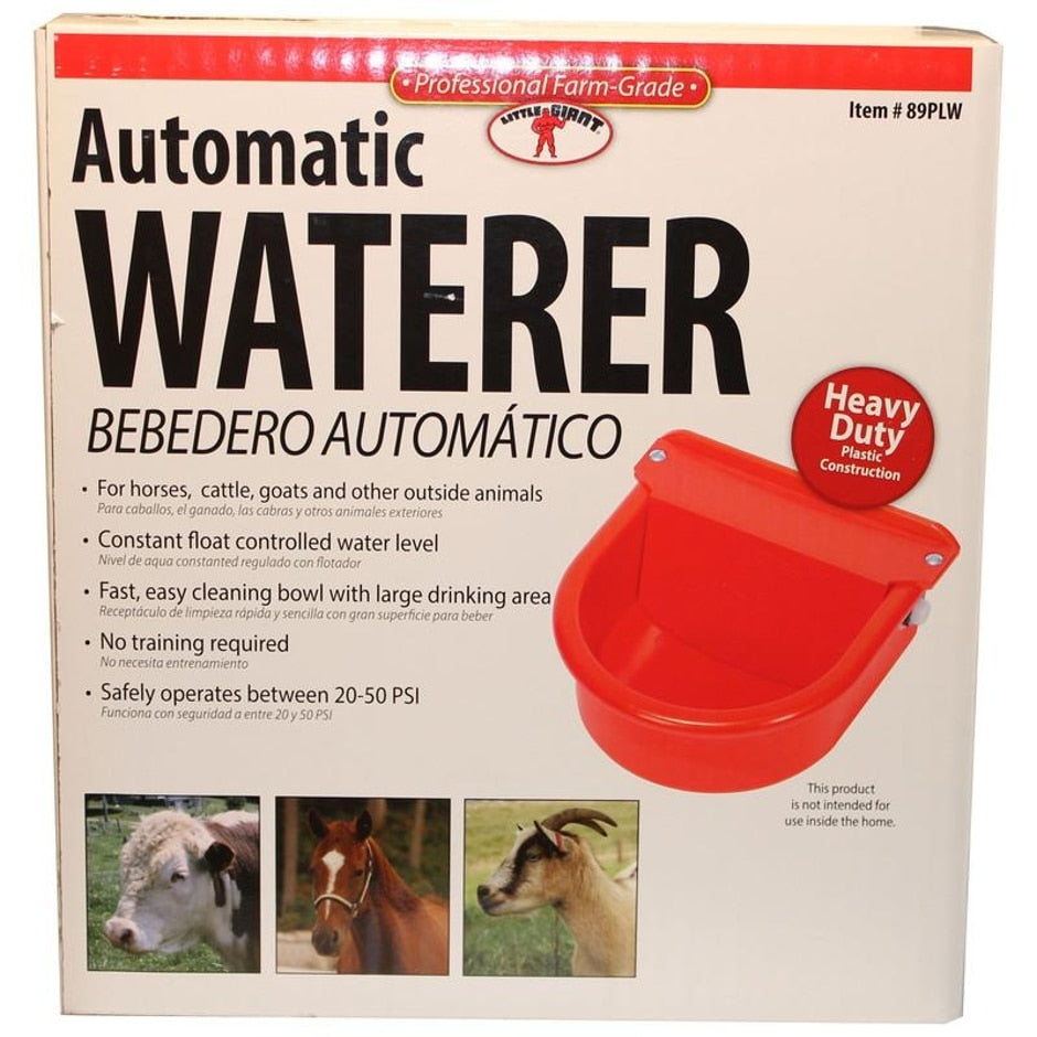 AUTOMATIC PLASTIC LIVESTOCK WATERER