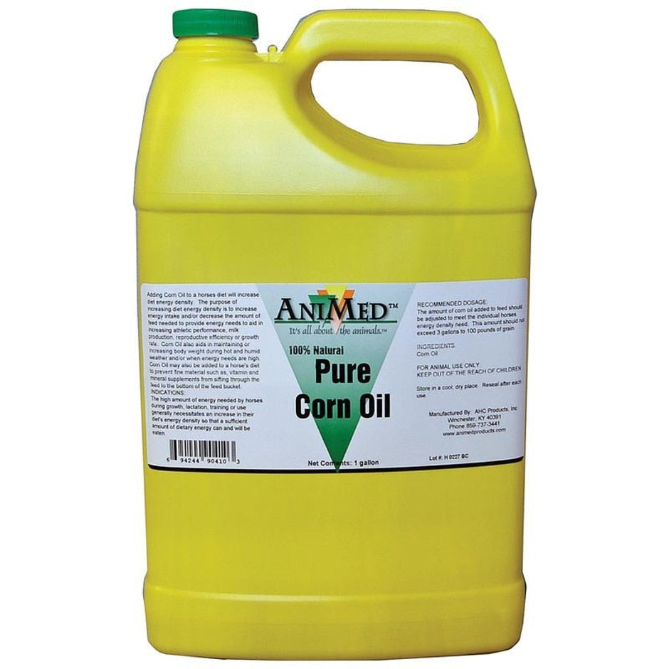PURE CORN OIL SUPPLEMENT FOR HORSES