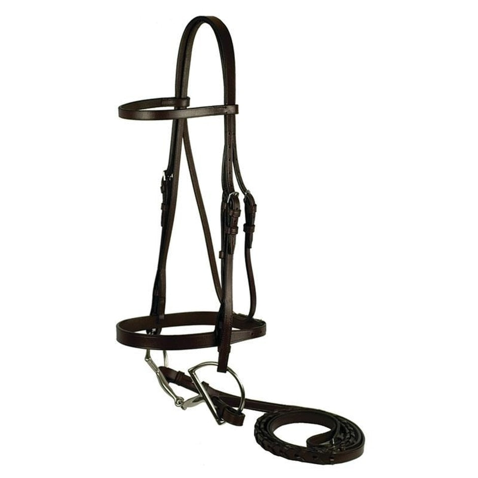 FLAT SNAFFLE BRIDLE