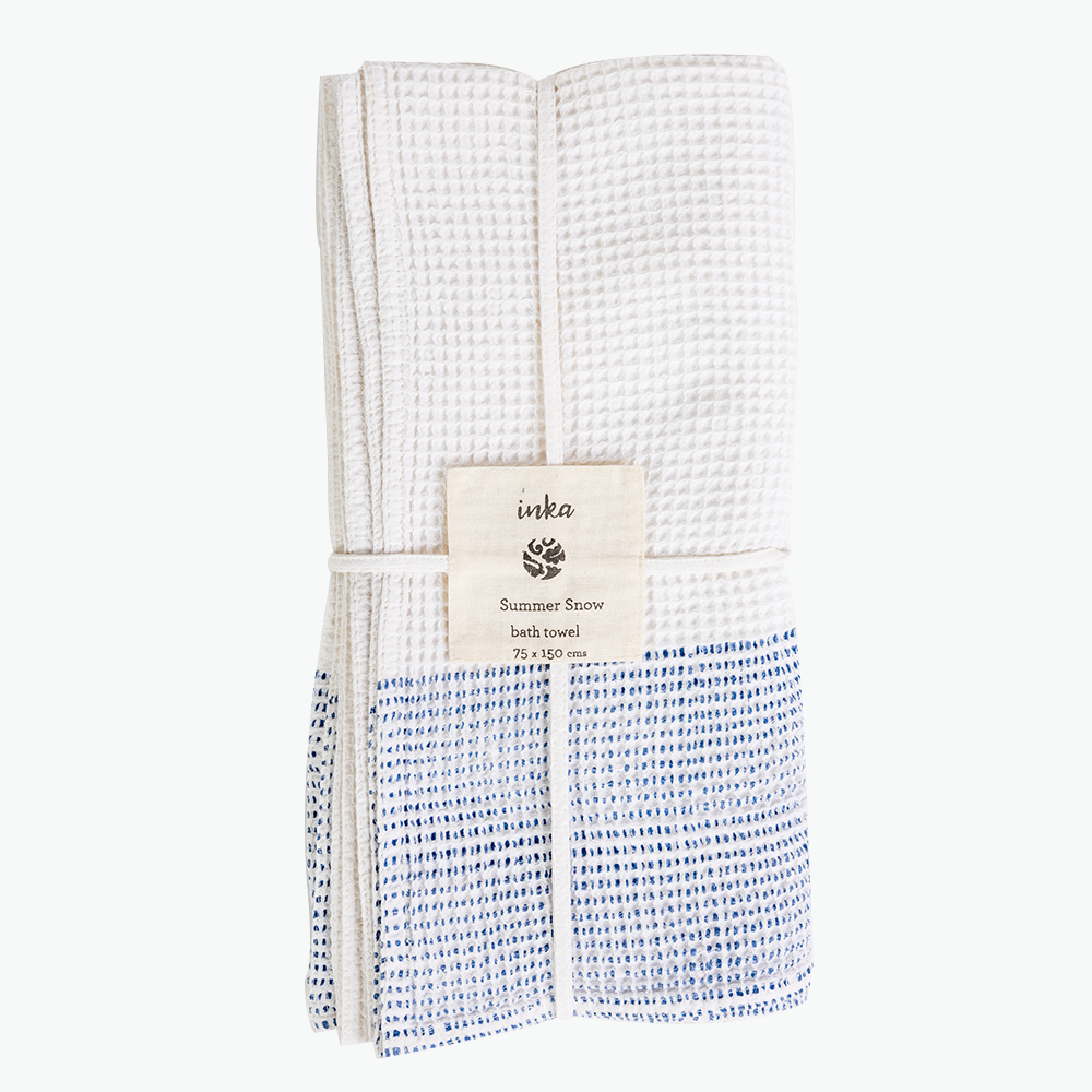 Summer Snow Bath Towel